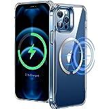 """ESR Funda Compatible con iPhone 12 Pro MAX 6.7"""", Magnética Carcasa Compatible con MagSafe y Carga inalámbrica, Funda HD Claro"""