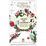 English Tea Shop Organic White Advent Calendar, 25 Tea Bag Sachets