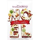 SCRAP COOKING 3919 Scrapcooking Kit Letter Cake Noël