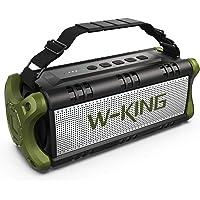 W-KING 50W(Picco 70W) Altoparlante Bluetooth Portatili - 24 Ore di Riproduzione - Portatile Speaker con Bassi Potenti…