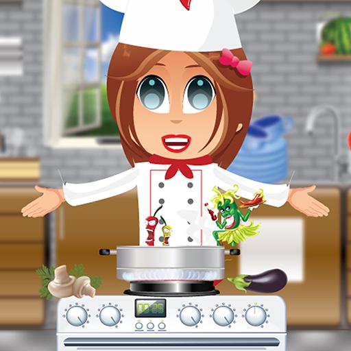 Chef Kinder verrückte Küche