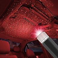 Furn Aspire USB Car Ceiling Light, Modern Car Adjustable Romantic Auto Roof Star Projector Lights Portable Atmosphere…