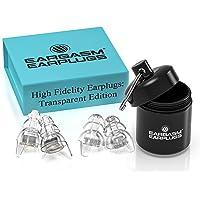 Eargasm High Fidelity Ohrstöpsel für Konzerte, Musiker, Motorräder, Geräuschempfindlichkeit, Bedingungen und mehr…