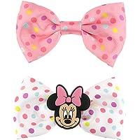 SIX Mini mollette per capelli con Minnie Mouse, fiocchi a pois (304-983)