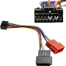 Kenwood DIN ISO Autoradio Adapter Kabel Stecker KDC usw