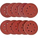 SPTA 100-delig 125 mm 40/80/120/180/320/400/600/800/1500/2000 schuurschijven klittenband schuurpapier schuurpapier excentrisc