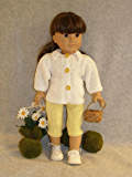 Daisy Girl: Doll knitting pattern