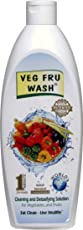 VEG FRU WASH Vegetable and Fruit Cleaner (400ml)
