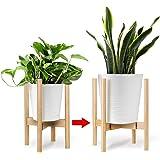 Kohree Support pour Plantes, Support de Pot de Fleur Réglable 20-30cm, Support en Pot pour intérieur et extérieur pour cour,