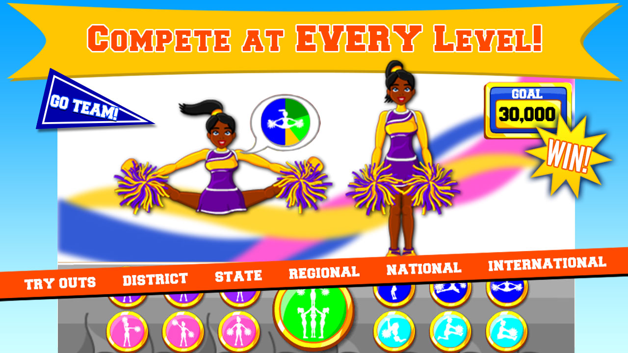 Free Cheerleader Games