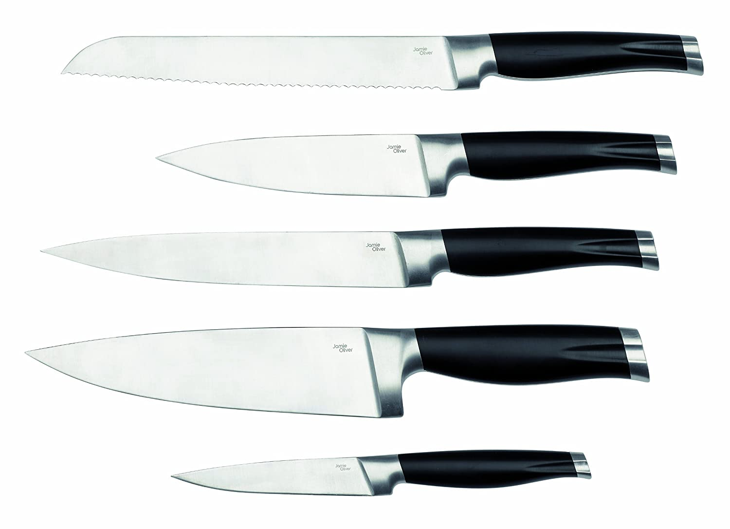 jamie oliver knives range carving knife stainless steel and
