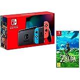 Nintendo Switch 32Gb Azul/Rojo neón + The Legend of Zelda: Breath of The Wild