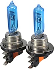 HITSAN INCORPORATION H15 55W 6000K Car Xenon Bulbs Headlight HID DRL Replacement Bulbs for AUDI VW GOLF