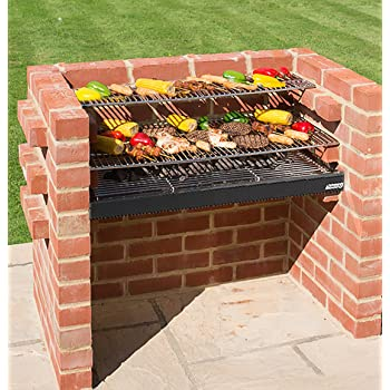 Bkb500 deluxe kit 100% stainless steel brick barbecue bbq kit.