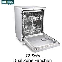 KKOLAR GERMAN TECH K DW 60 SS Free Standing 12/14 Place Settings Dishwasher-Fully Integrated Built in & Free Standing Dishwasher