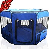 SRI Pet Animals Fabric Cage (Blue)