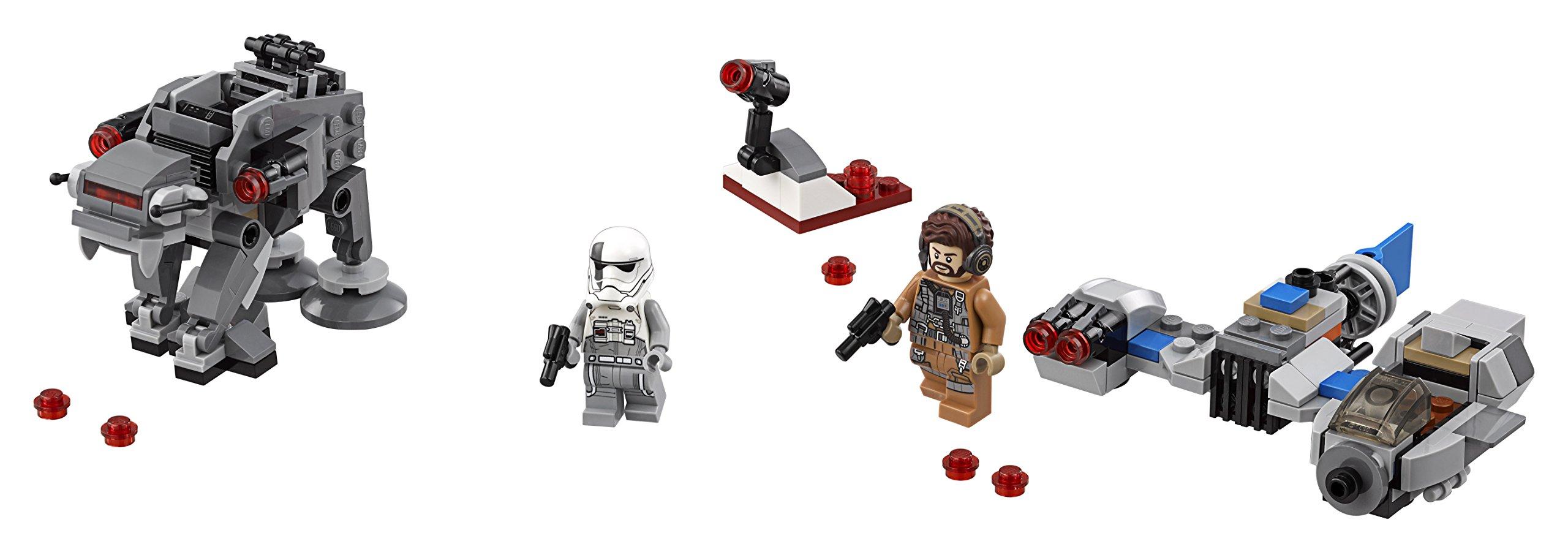 LEGO- Star Wars TMSki Speeder conMicrofighter First Order Walker, Multicolore, 75195 3 spesavip