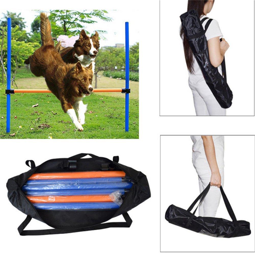 Jump Hurdle Bar Dogs jump high Bar Outdoors Agile Barrier Bar Pet Training Toys Dogs Jump High Toys Pet Toy Sports Equipment