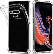 HOOMIL Samsung Galaxy Note 9 Case Clear Silicone Phone Case Cover (Transparent)