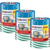 tesa - Kleurrijk verpakkingstape plakband verpakkingstape in verschillende kleurrijke ontwerpen voor cadeaus/3 rollen van 25