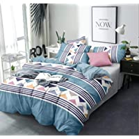THE HOME STYLE Super Soft Glace Cotton King Size AC Comforter/Blanket/Duvet for Double Bed (Design 2) (Comforter)