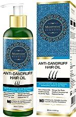 Morpheme Remedies Anti Dandruff Hair Oil (With Olive, Bhringraj, Castor, Neem, Tea Tree Oils) - 200ml