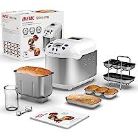 Imetec Zero-Glu Pro, Machine à pain, Ciabattas et Petits pains sans gluten pour personnes cœliaques, Pâte à pizza…