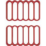 OXO Good Grips Siliconen braadroosters, 2 stuks