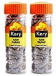 Kery Aam Papad Mango Slice Mukhwas, 2 Bottles, 280g [Pachak Churan Mouthfreshener]
