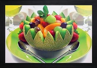 SAF 'fruits' Still Life Painting(30 x 2 x 45 CMS)