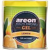 Areon Lemon Gel Air Freshener for Car (80 g) (GCK04)