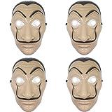 Udekit Salvador Dali masque pour enfants Halloween Thanksgiving Pâques noël Ostüm Cosplay mascarade Bar décoration