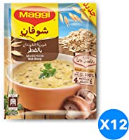Maggi Oat with Mushroom Soup, 65 gm - Pack of 12