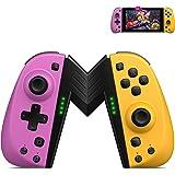 ECHTPower Controller per Nintendo Switch, Wireless Bluetooth Joystick Sostituzione per Joy con Compatibile con Nintendo…