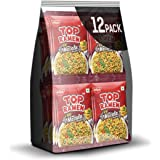 Top Ramen Masala Noodles Pouch, 840 g (Pack of 12)