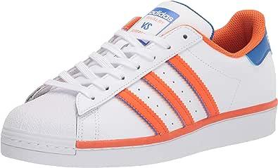 adidas Originals Superstar, Sneaker Uomo, Granito Arancio Chiaro Bianco, 48.5 EU