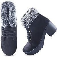 Rodricks Women's Fashion Fur Boots