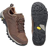 Mountain Warehouse Pioneer Waterproof Leather Womens Walking Shoes -Vibram Sole Sports Footwear, Breathable, Nubuck…