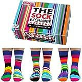 The Sock Exchange Weekend - United Oddsocks - 6 Oddsocks for Men UK 6-11 EUR 39-46 US 7-12