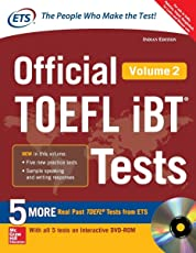 Official Toefl IBT Tests - Vol. 2 (With Dvd)
