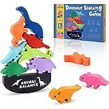 LET'SGo Dinosaurios Juguetes de Madera, Juguetes Montessori & Regalos Cumpleaños