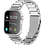 GerbGorb Compatible Bracelet Apple Watch, Bracelet Montre en Acier Inoxydable pour iWatch Séries Se/6/5/4/3/2/1 44mm 42mm 40m