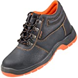 Urgent Leightweight Leather Men 's Boot Safety Work Boot with Steel Toe Cap 101 S1