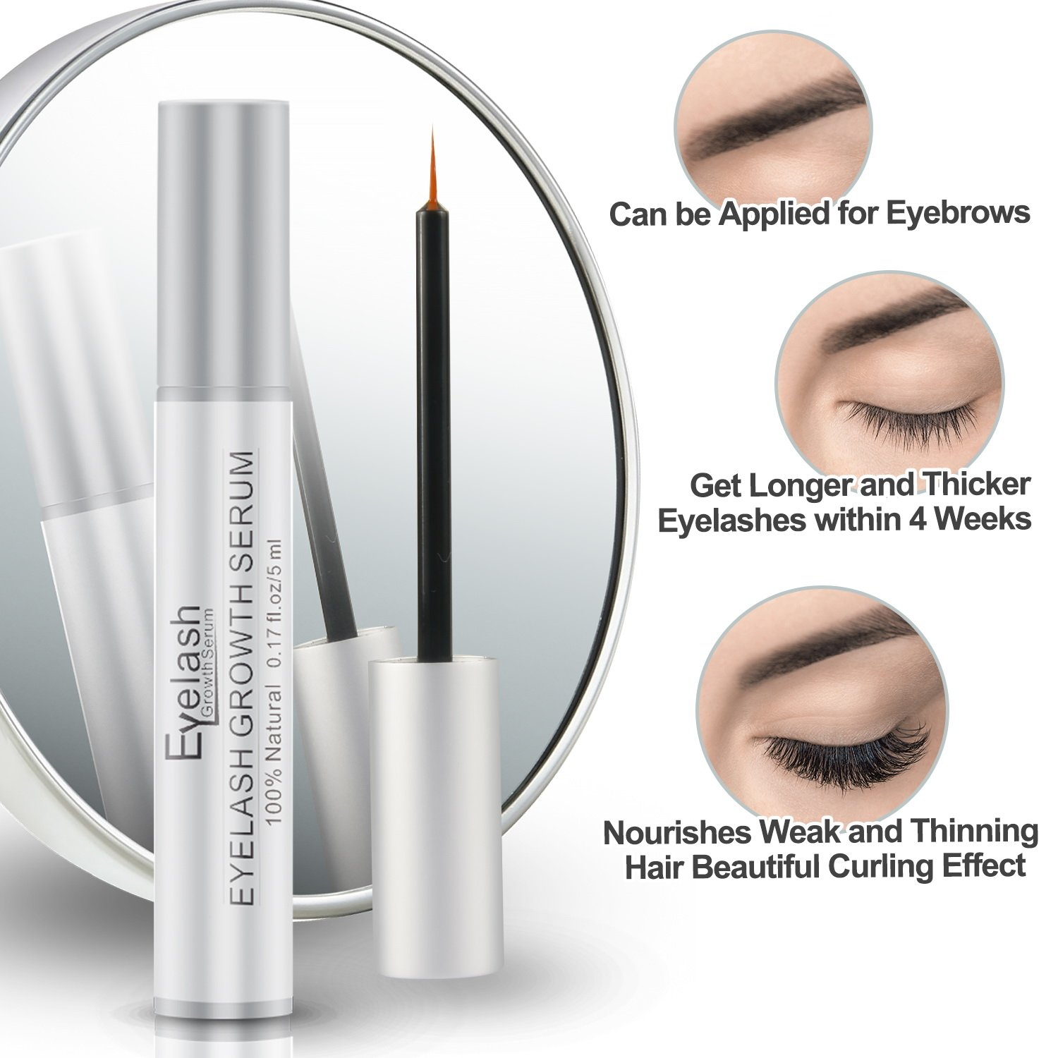 Stanbow Eyelash Growth Serum Natural Eyebrow Enhancer Serum Product