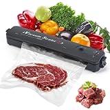 Macchina Sottovuoto per Alimenti, 2 in 1 Professionale Sottovuoto Macchina, Automatica Portatile Macchina Sottovuoto…