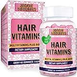 Hair Growth Strengthen Vitamins Sugar Gummy Berries Optimal Solutions Hair, Skin, Nails Flavor 2 Month Supply