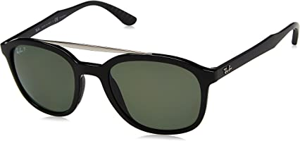 Ray-Ban Men's Double Bridge Square Sunglasses