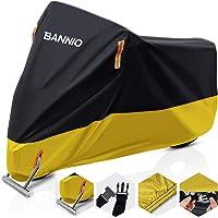 BANNIO Telo Coprimoto,210D Oxford Telo Moto,Telo Copri Scooter Resistente a Impermeabile/Polvere/Pioggia/Anti-UV…