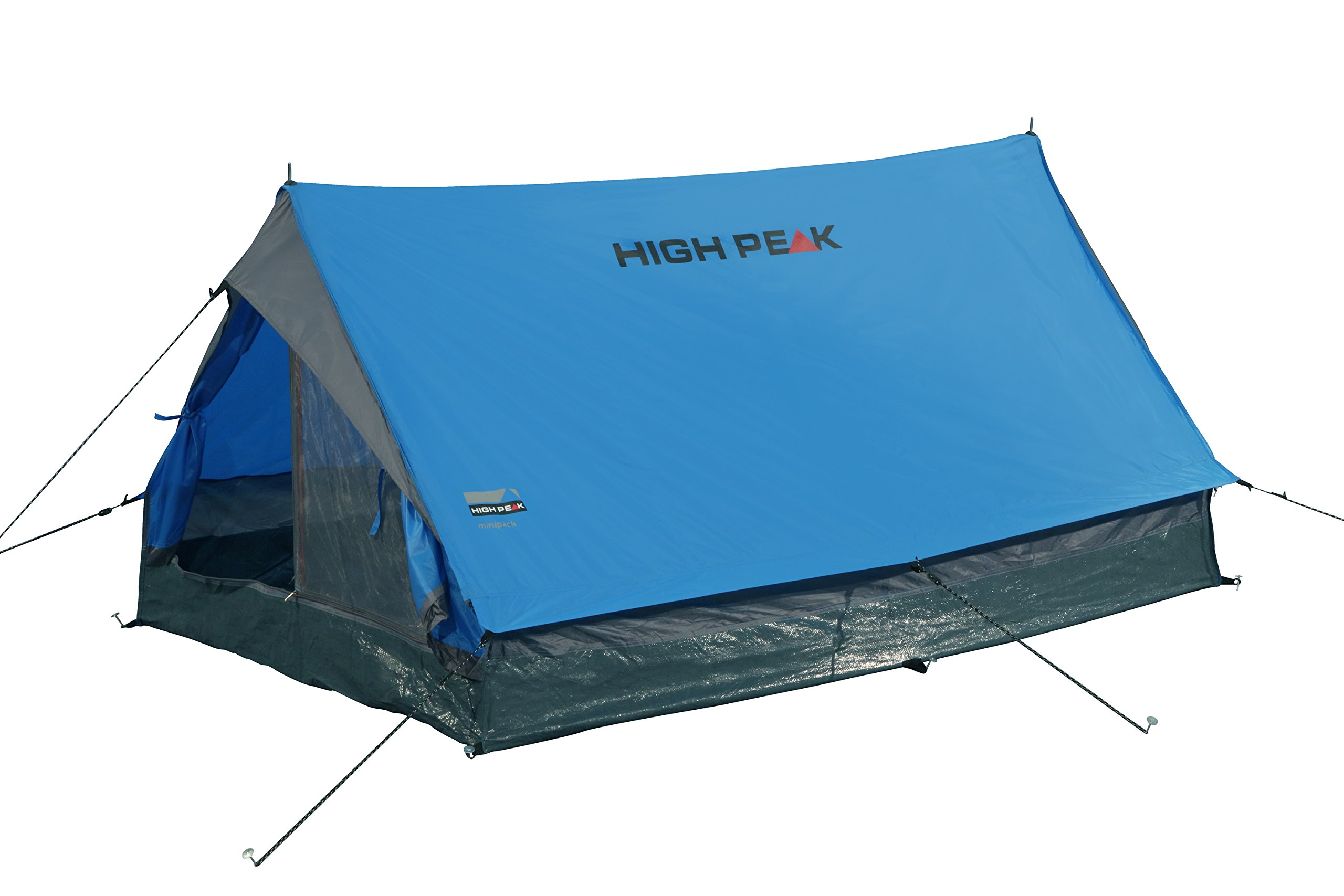 High Peak Unisex's Minipack Tents, Blue/Grey, One Size 4