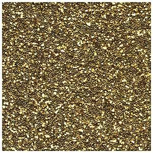 Vesalux 101Go Glitter Fischfutter Gold-Glitzer Farbe für Wände und andere Oberflächen